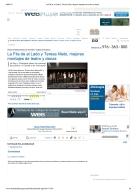 La Fila de al Lado y Teresa Nieto, mejores montajes de teatro y danza